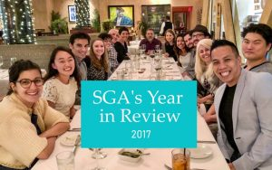 SGA's Year in Review