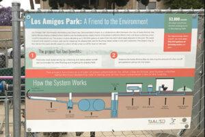 Los Amigos Park Stormwater Diversion Project